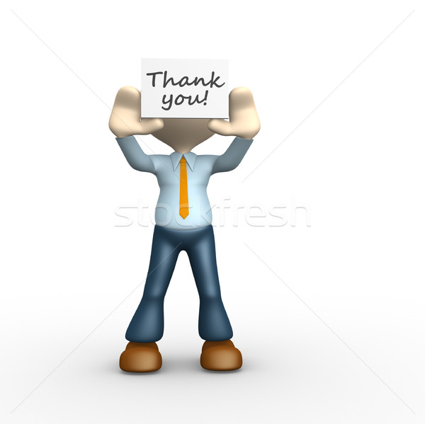 Thank you! Stock photo © orla