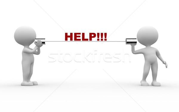 Stock photo: Help!