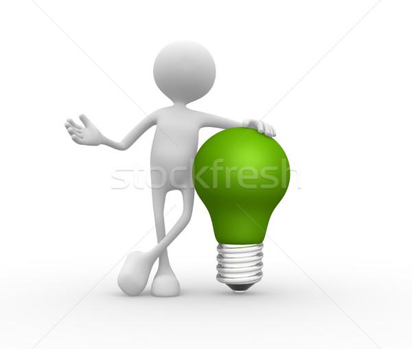 Light-bulb  Stock photo © orla