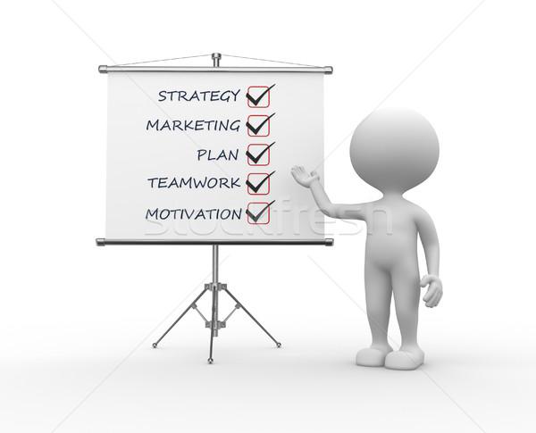 Conceptual image - strategy Stock photo © orla