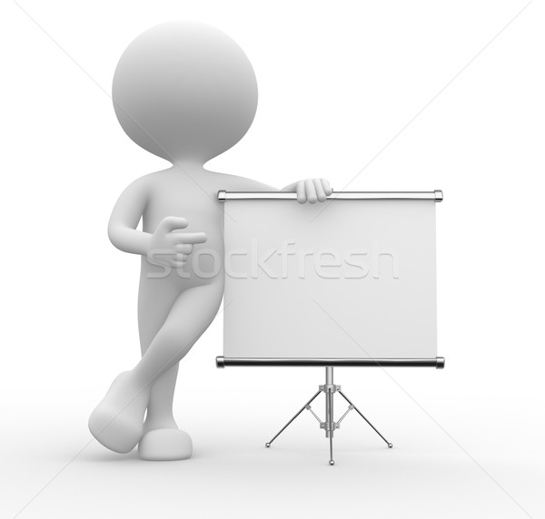 Flip chart Stock photo © orla