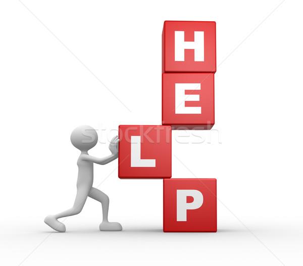 Help Stock photo © orla