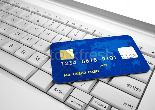 Credit card  Stock photo © orla