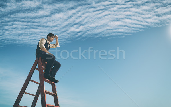 Success business and ambitions concept. Stock photo © orla