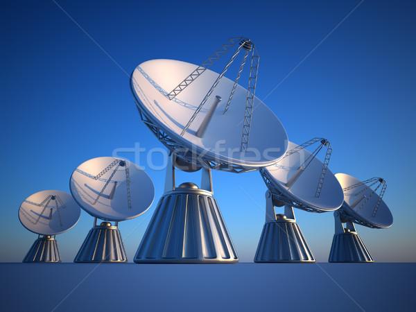 Parabolic dish Stock photo © orla