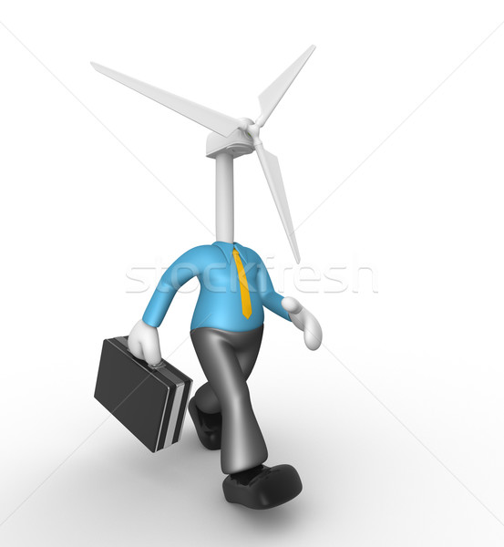 Wind turbine Stock photo © orla