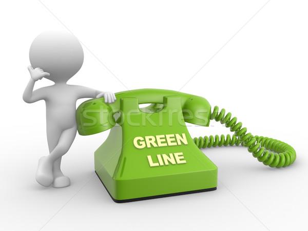 Green line  Stock photo © orla