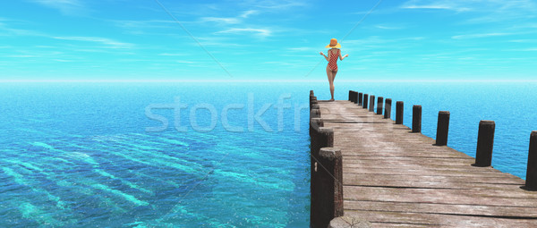 Beautiful women  Stock photo © orla