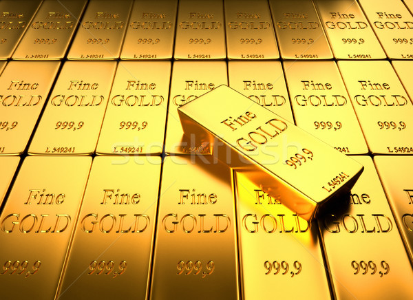 Gold Ingot  Stock photo © orla