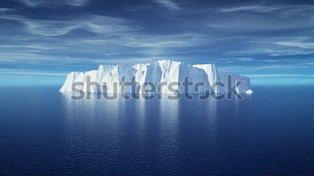 Subaquatique vue iceberg belle transparent mer Photo stock © orla