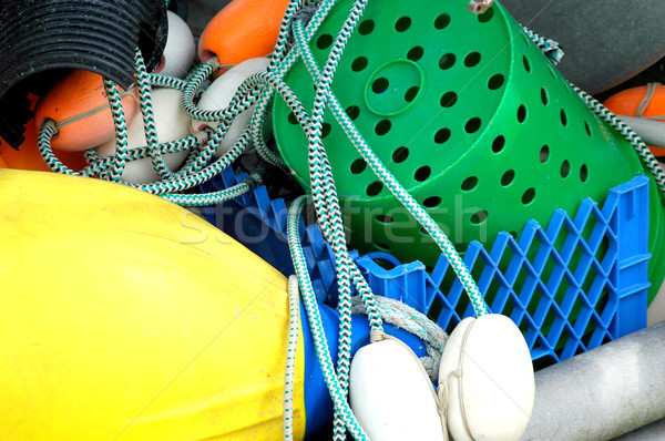 Crab baskets. Stock photo © oscarcwilliams