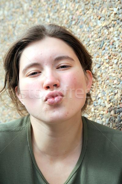 Female beauty. Stock photo © oscarcwilliams