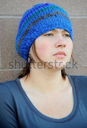 Female tomboy. Stock photo © oscarcwilliams