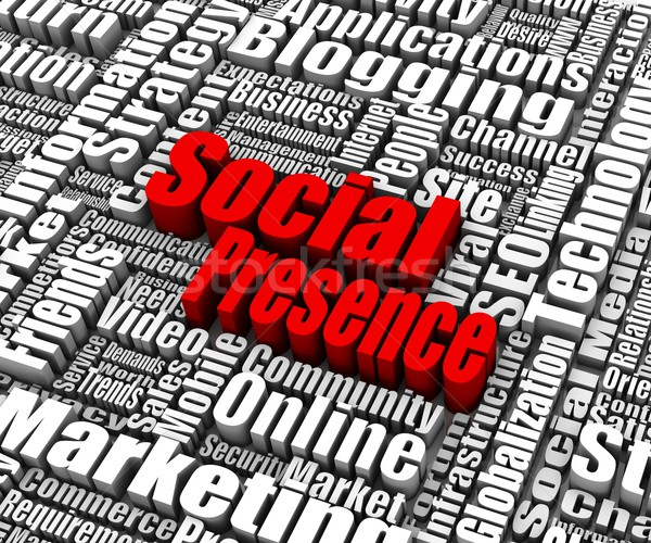 Social Presence Stock photo © OutStyle