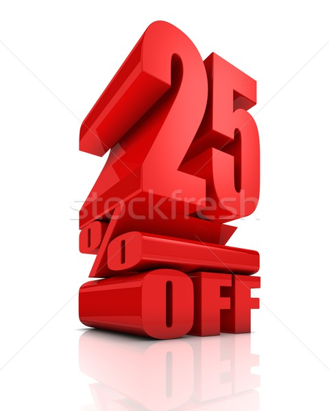 Sale 25 Percent Off Stock photo © OutStyle