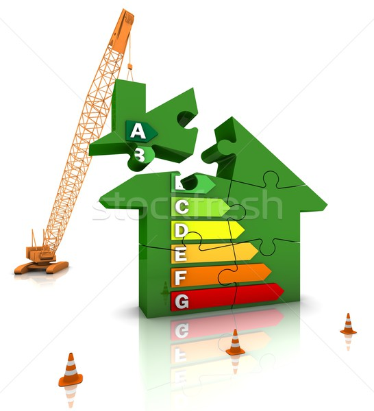 Energy Efficient Home Stock photo © OutStyle