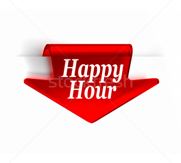 Happy Hour Stock photo © OutStyle