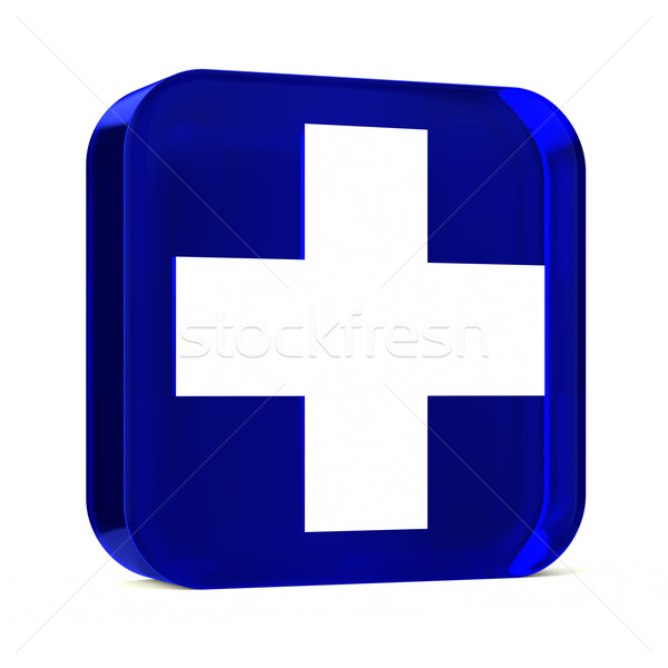 Health Services Blue Stock photo © OutStyle