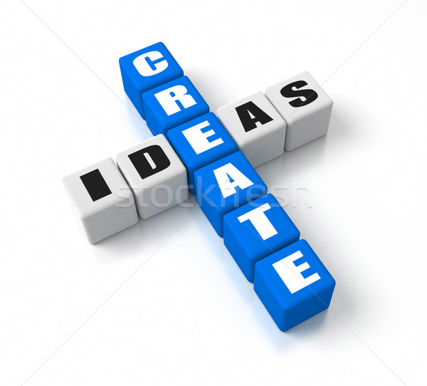 Create Ideas Stock photo © OutStyle