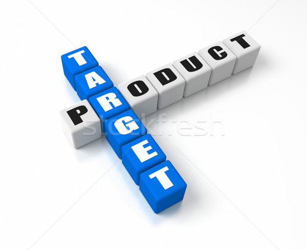 Stock photo: Target Product