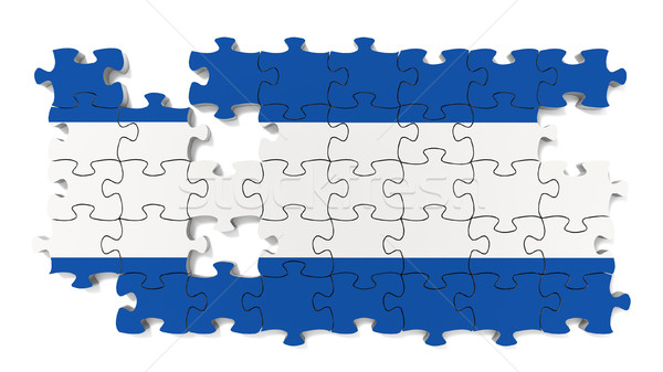 Argentinian National Flag Stock photo © OutStyle