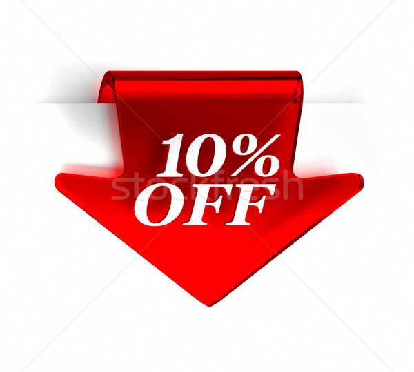 Ten Percent Off Stock photo © OutStyle