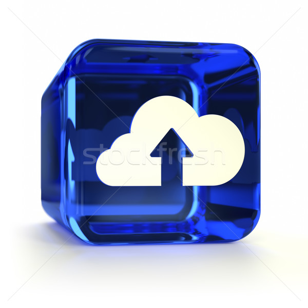 Cloud Submit Icon Stock photo © OutStyle