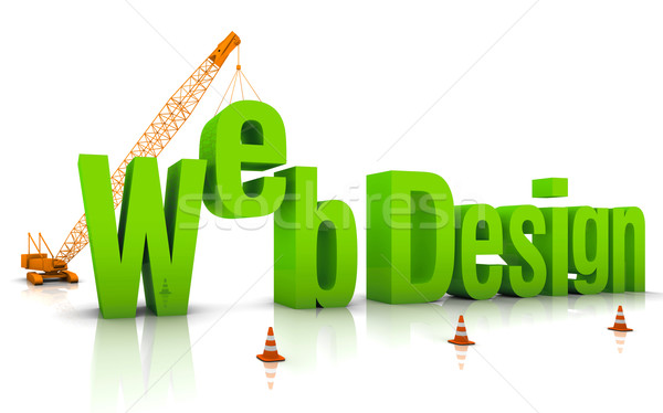 Web Design Stock photo © OutStyle