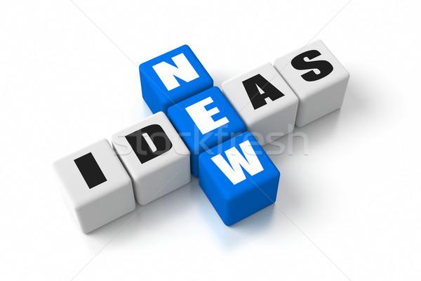 Stock photo: New Ideas