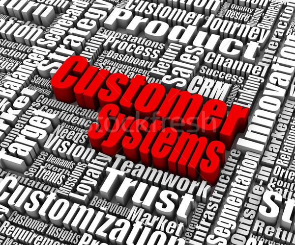 Customer Systems Stock photo © OutStyle