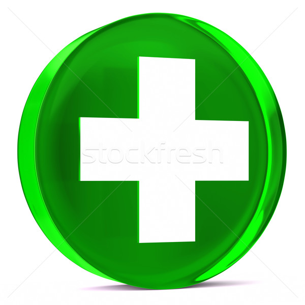 Health Services Green Stock photo © OutStyle