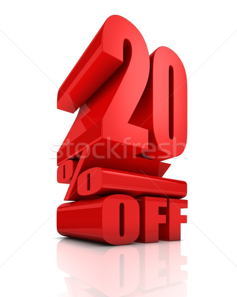 Sale 20 Percent Off Stock photo © OutStyle