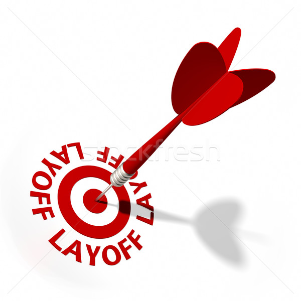 Layoff Target Stock photo © OutStyle