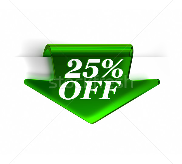 Twenty Five Percent Off Stock photo © OutStyle