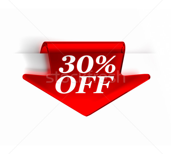 Thirty Percent Off Stock photo © OutStyle