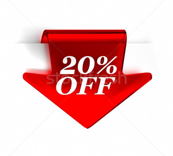 Twenty Percent Off Stock photo © OutStyle