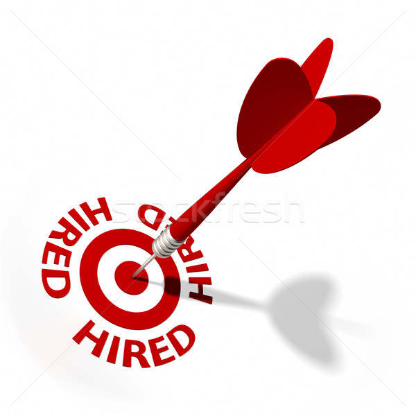 Hired Target Stock photo © OutStyle