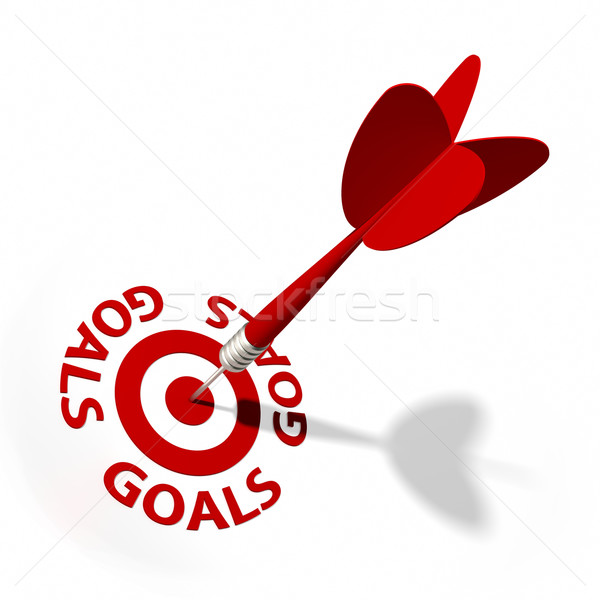 Goals Target Stock photo © OutStyle