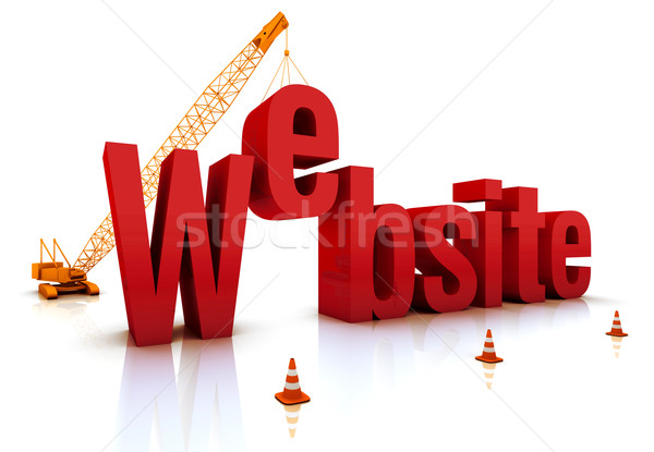 Website Under Construction Stock photo © OutStyle
