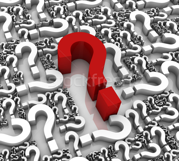 Question Marks Stock photo © OutStyle
