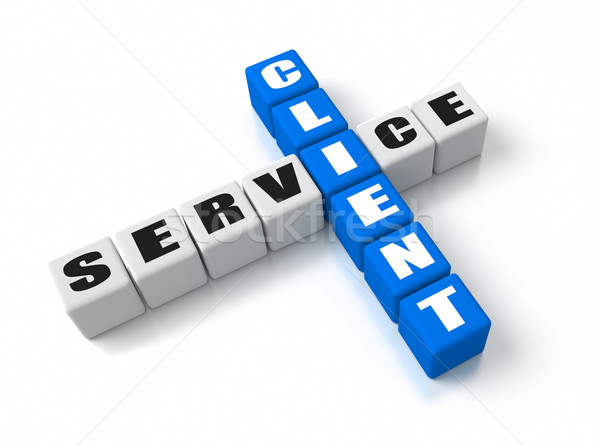 Client Service Stock photo © OutStyle