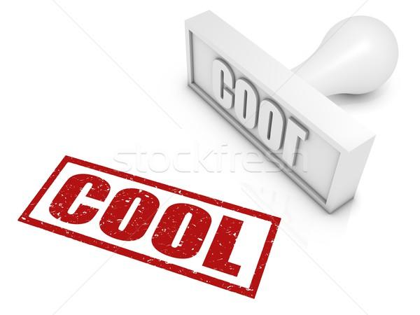 Stock foto: Cool · Stempel · Konzepte