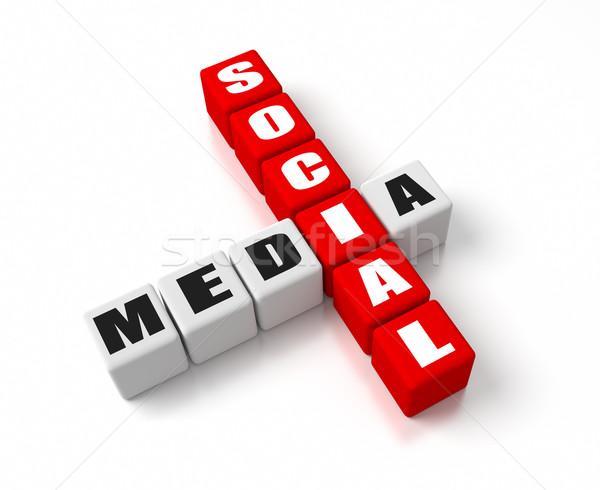 Social Media Stock photo © OutStyle