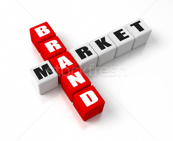 Brand Market Stock photo © OutStyle