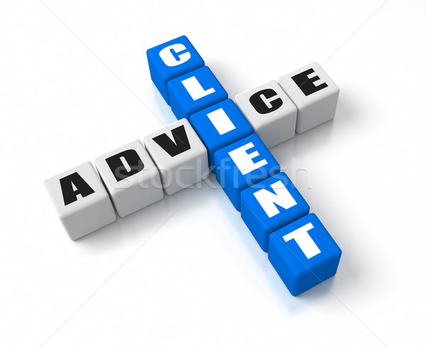 Client Advice Stock photo © OutStyle