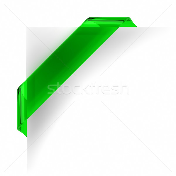 Green Banner Stock photo © OutStyle