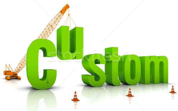 Custom Design Stock photo © OutStyle