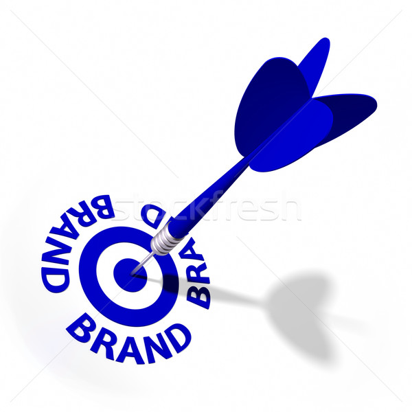 Brand Target Stock photo © OutStyle