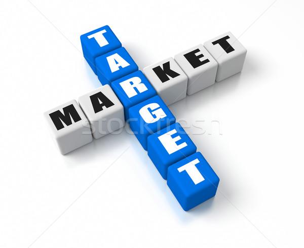 Stock photo: Target Market
