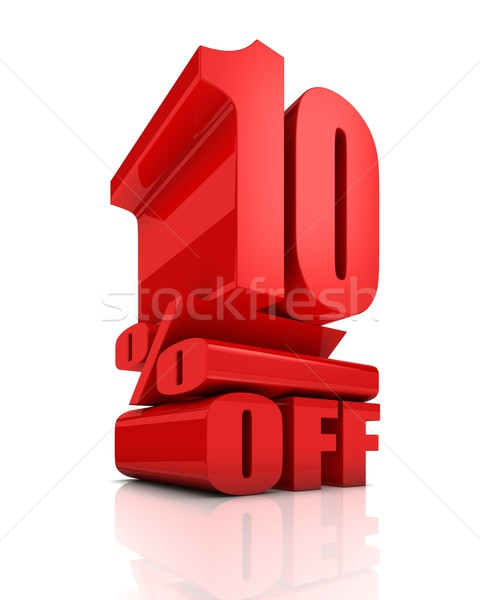 Sale 10 Percent Off Stock photo © OutStyle